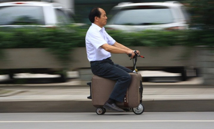 Motorized Suitcase