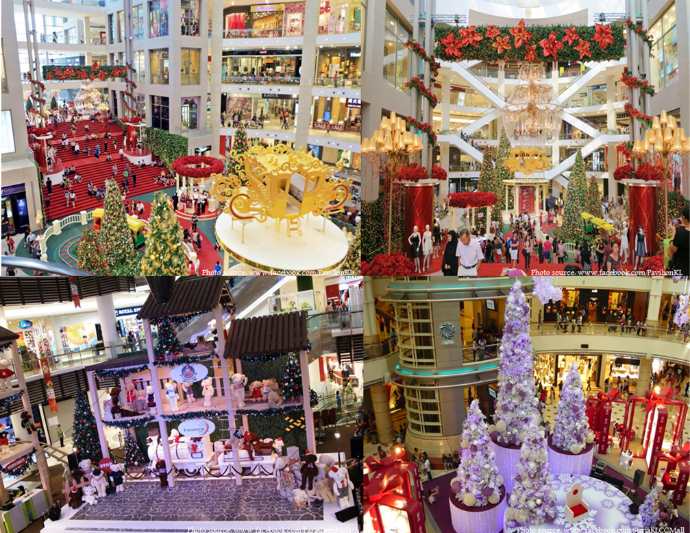 Christmas in south east asia blog for Best places for christmas shopping