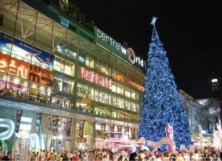 Christmas in Bangkok 1