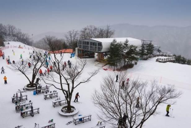 White Christmas in South Korea