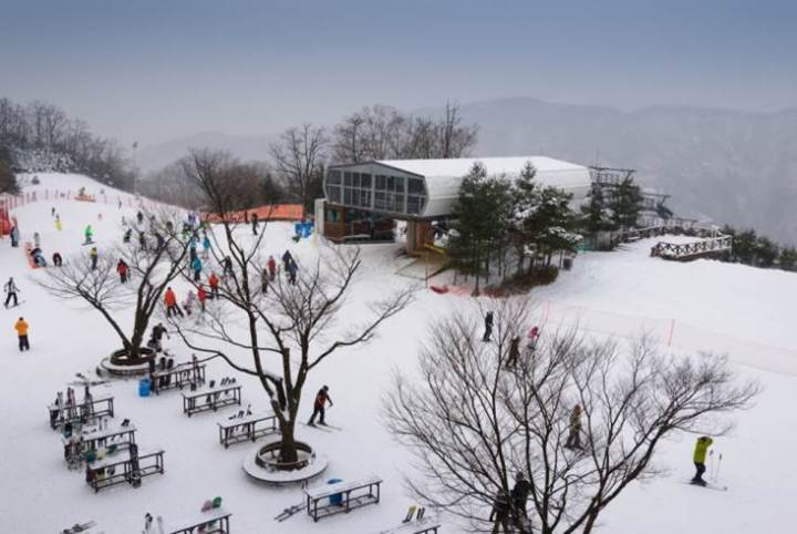 White Christmas in South Korea