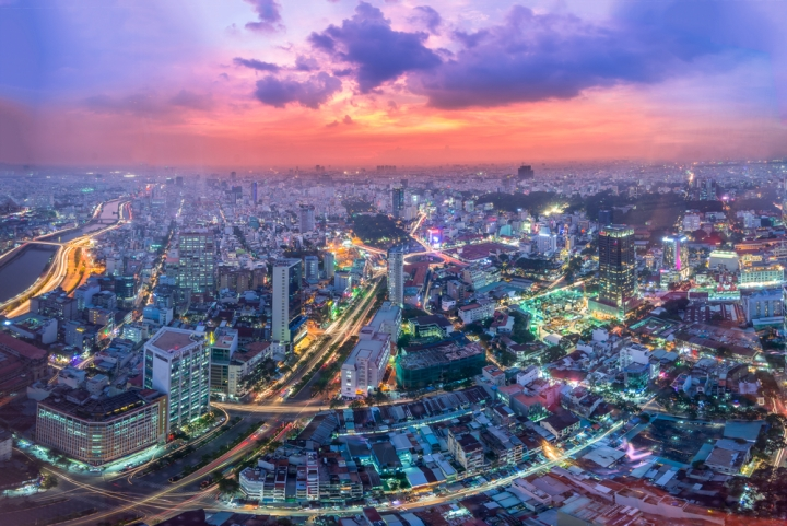 Celebrate New Year's Eve in South East Asia - Ho Chi Minh, Vietnam