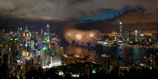 Celebrate New Year's Eve in South East Asia - Victoria Bay, Hong Kong
