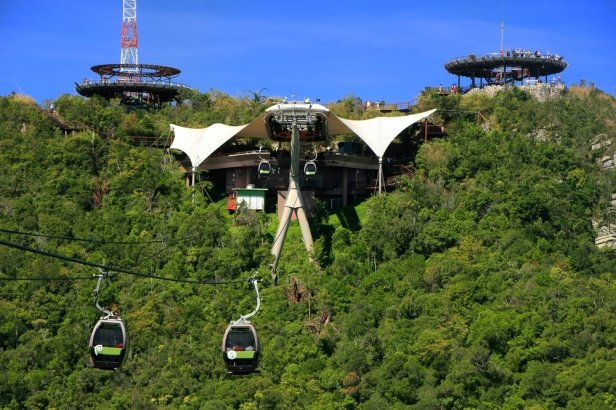 Things to do in Langkawi - Cable Car