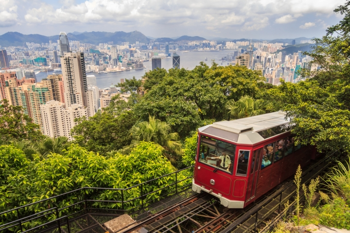 Top Ten Places To See In Hong Kong - The Peak