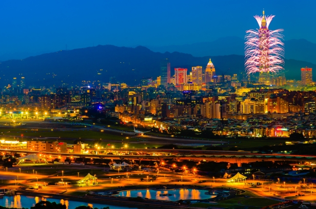 Celebrate New Years Eve in South East Asia - Taipei