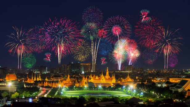 Celebrate New Year's Eve in South East Asia - Bangkok, Thailand