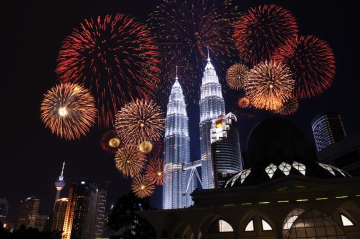 Celebrate New Year's Eve in South East Asia - Kuala Lumpur, Malaysia