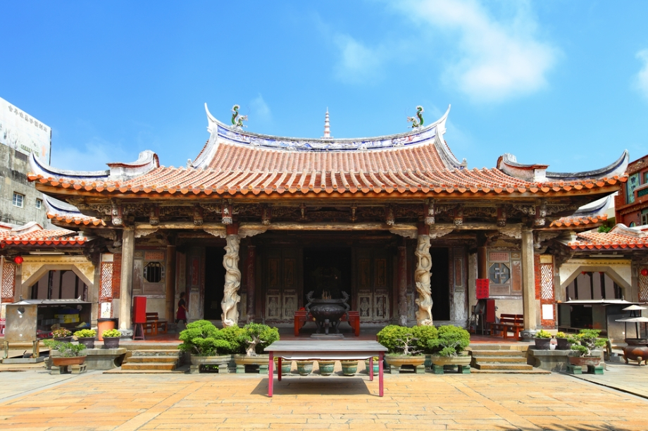 Top Ten Places to See in Taipei - Lungshan Temple
