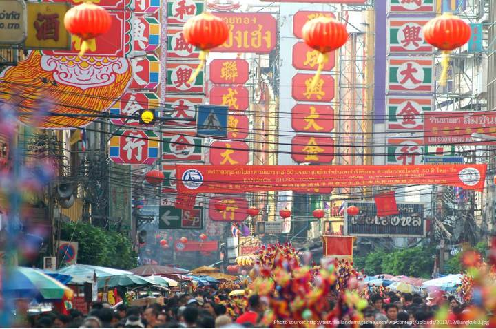 Best Places to Celebrate Chinese New Year - Bangkok