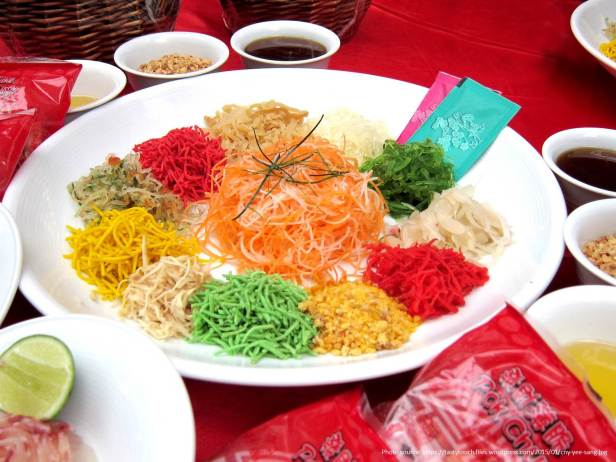 Best Places to Celebrate Chinese New Year - Yee Sang