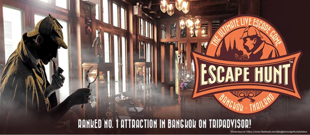 3D2N in Bangkok - The Escape Hunt Experience