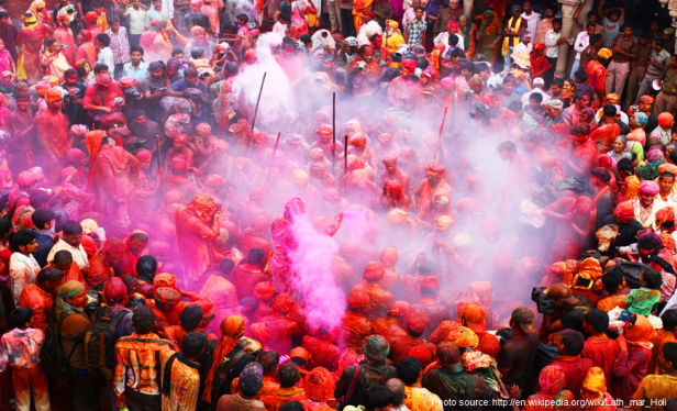 Best Festivals In Southeast Asia - Holi Festival India