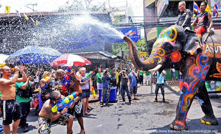 Best Festivals In Southeast Asia - Songkran Festival Thailand