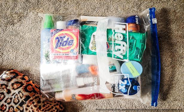 Travel Hacks - Double Bag Toiletries