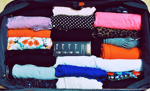 Travel Hacks - Rolling Clothing