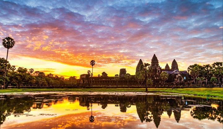 Asia in the movies - Angkor