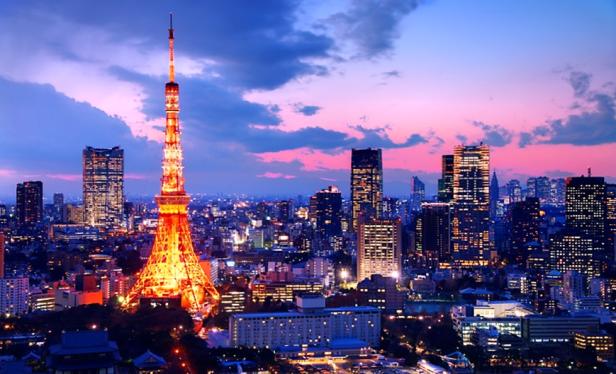 Sightseeing in Tokyo - Tokyo Tower