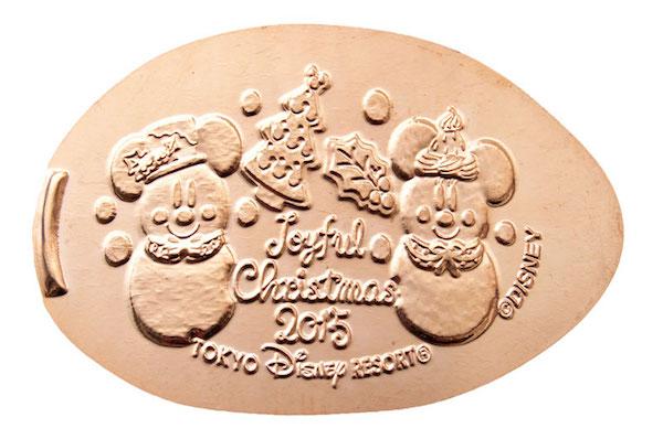 Pressed pennies Tokyo Disneyland