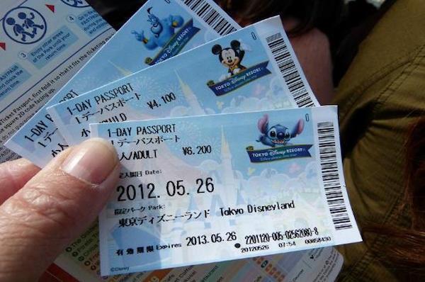 Tokyo Disneyland Tickets