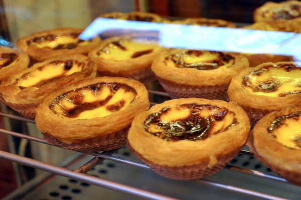 macau Portuguese egg tart dessert must eat asia