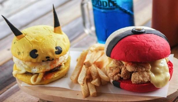Burger-kartun-di-Doodle-Burger